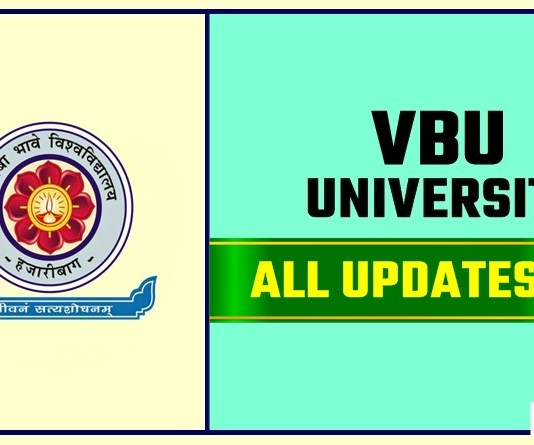 VBU Result Time Table Admit Card Admission