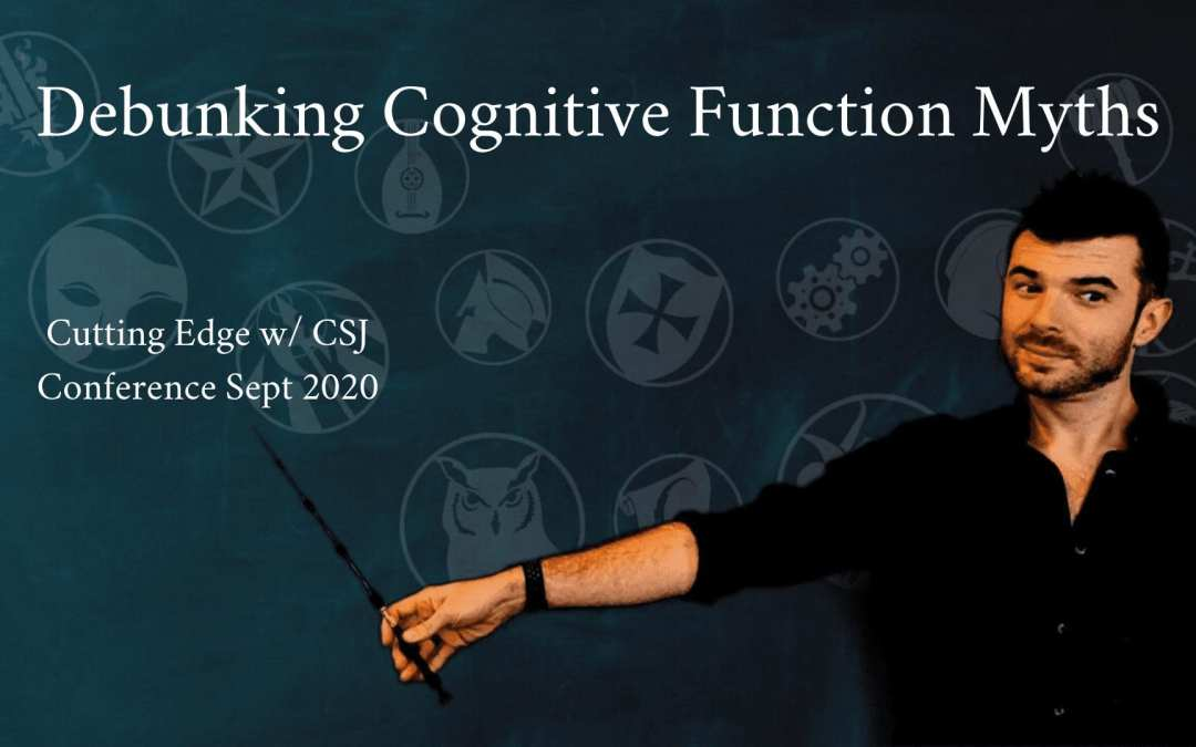 Sep 2020 Cognitive Function Debunking | The Cutting Edge with CSJ