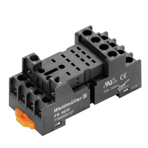 RELAY BASE, D-SERIES, FS 4CO