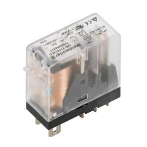 Miniature industrial relay, 24 V DC, 1 CO contact (AgNi) , 250 V AC, 10 A