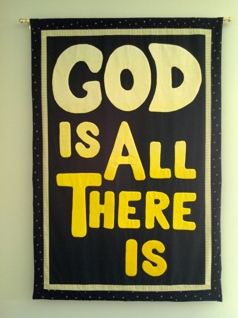 God Is All There Is Banner - Center for Spiritual Living Anacortes