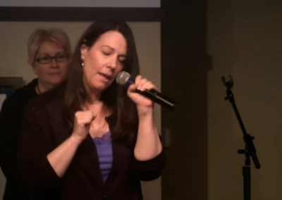 "Dina Ridenour Singing ""Free To Turn It Around"""