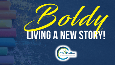 Boldly Living A New Story