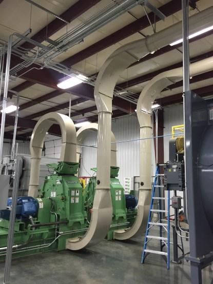 Hop Hammer Mill Air System 3