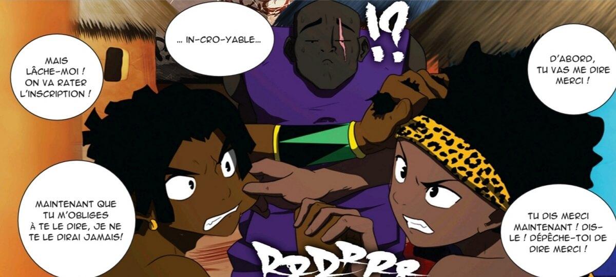 Bulle - Afro Manga The Last Kemit