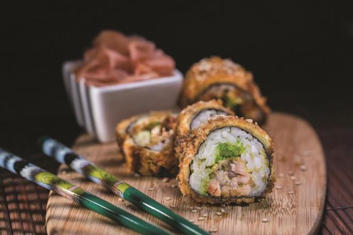 Makis frits - Sushi Wave - Martinique