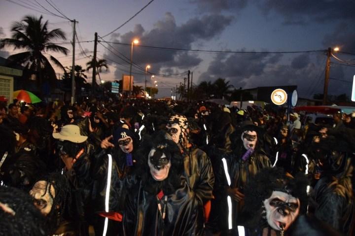 Groupe de carnaval Mass Moul Massif - Guadeloupe