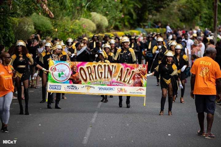 Groupe de carnaval Origin'all - Guadeloupe