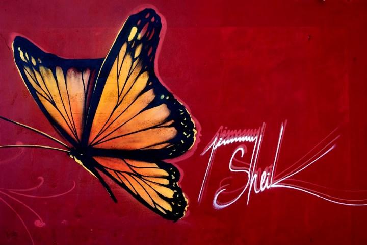 Fresque Jimmy Sheik