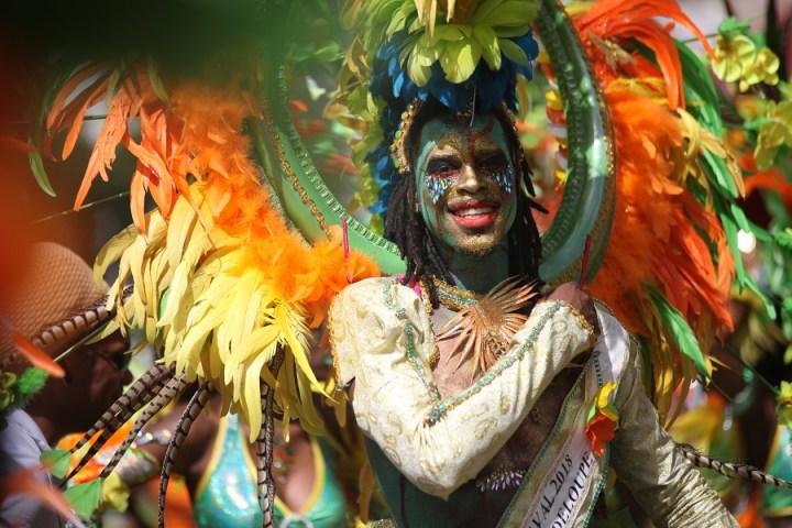 Jessy Tacalfred, roi du carnaval de guadeloupe 2018
