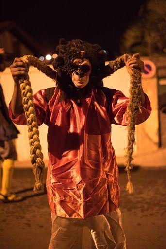 Personnage groupe de carnaval Mas Moul Massif