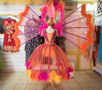 Costume réalisé par Patrick Cassin - Guadeloupe