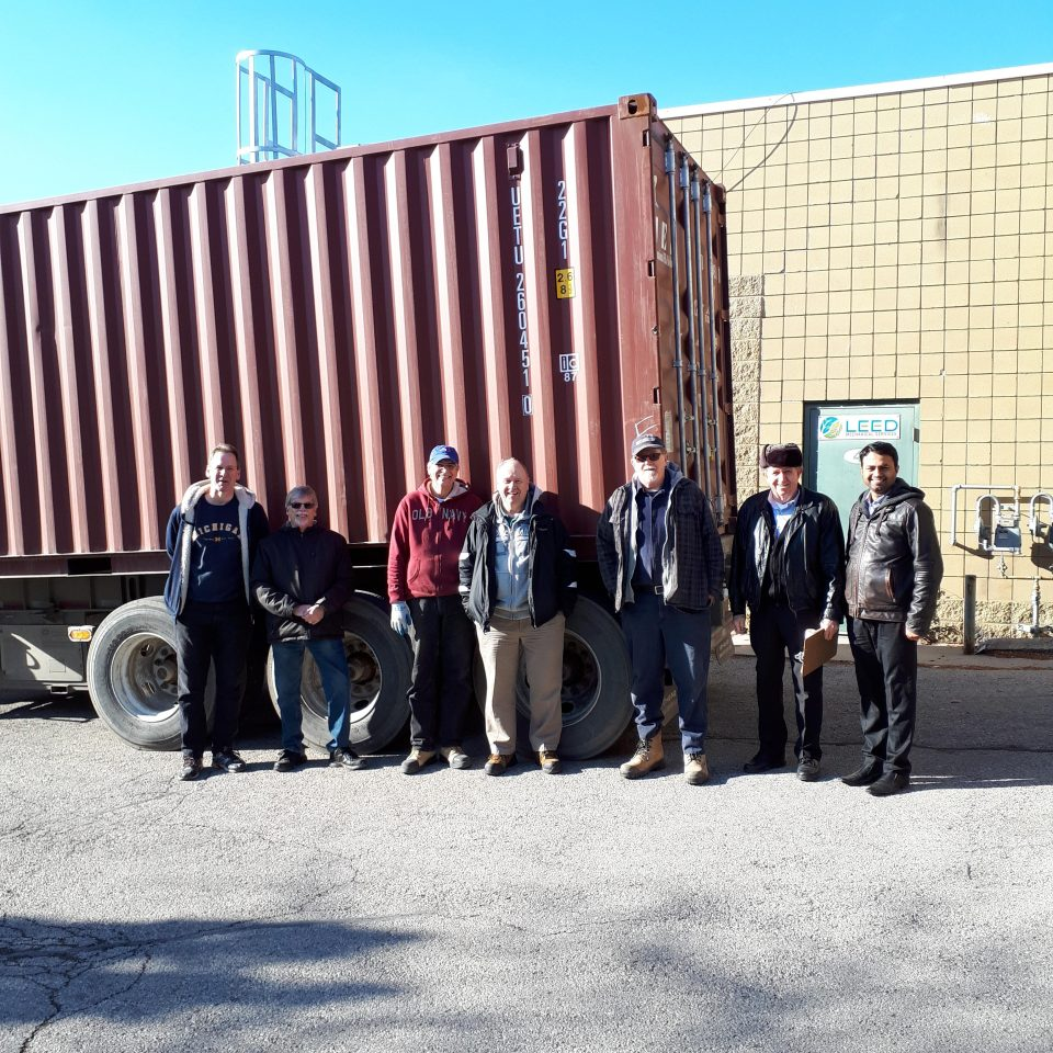 Loading Crew for Ghana Dec. 2018 shipment