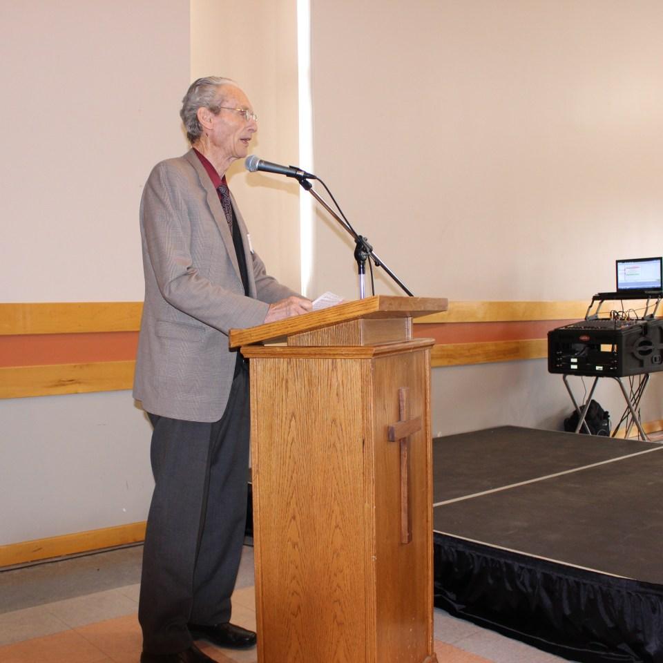 Allen Armbruster speaking