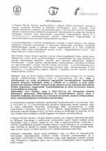 MÉK-MMK-MMTÉSZ közlemény I.
