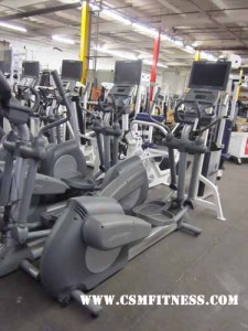 Life Fitness 91Xi Crosstrainer with TV
