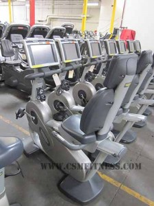 TechnoGym Recline EXC700 Recumbent Bike