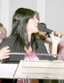 Courtesy photo.  Fort Carson Family member Lisa Pratt is among the 12 finalists in the 2009 Operation Rising Star competition that begins Nov. 14 in Wallace Theater, Fort Belvoir, Va.