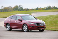 The Crosstour is the most expensive Accord model. It is a cross between a sedan, wagon and coupe. Photo courtesy of Honda.