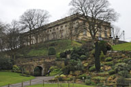 """Nottingham Castle has a special exhibition of costumes and props used in the new Ridley Scott """"Robin Hood"""" film starring Russell Crowe. Photo courtesy of Priscilla Lister."""