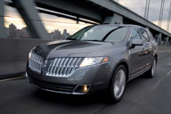 Sold in two versions, in front- or all-wheel drive, the Lincoln MKT has prices ranging from about $45,000 to $58,000 with options. Photo courtesy of Ford.