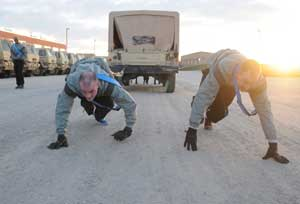 Leaders set standard at PT Competition | Colorado Springs Military