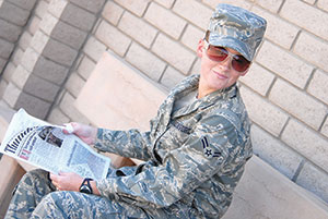 US Air Force Photo Illustration Unauthorized Sunglasses Are Another Example Of A Uniform Violation Allowed To Have Conservative
