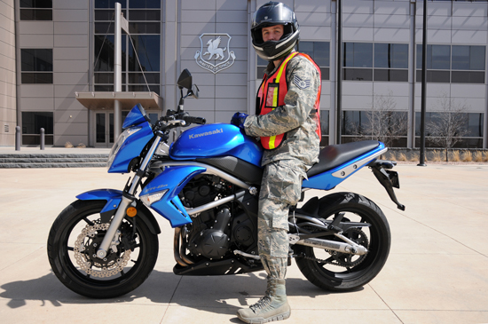 (U.S. Air Force Photo/ Staff Sgt. Robert Cloys) Air Force changes guidelines regarding motorcycle and bicycle safety.