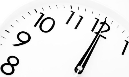 Leap second (stock photo)