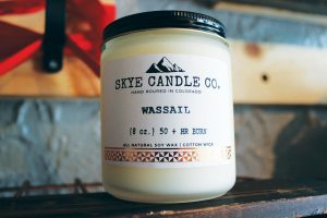 Commonhweel Artists Co-op's Holiday Market includes wares from Skye Candle Company, a new small business in Manitou Springs. (Courtesy photo)