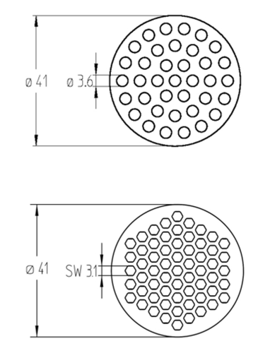 Ceramic membranes: High filtration area packing densities