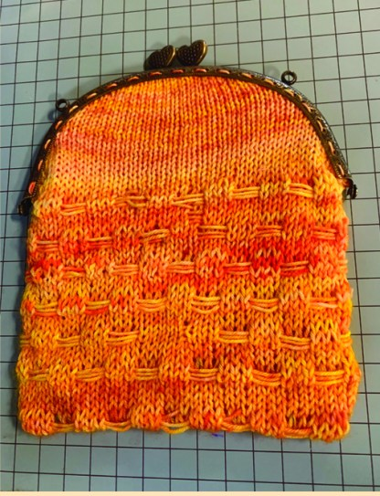 Myra Kness Basketweave Purse 1