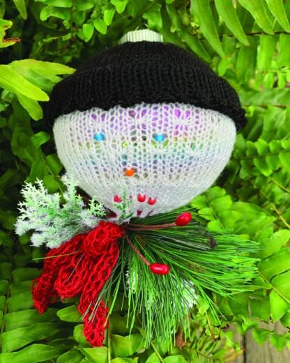 Myra Kness Snowman Ornament 1