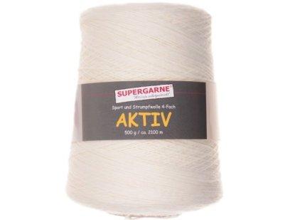 AKTIV White 500g cone 1