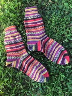 Aktiv Sock Yarn Bundle:  4 100g skeins PERU 6