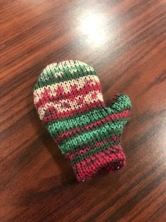 CSM Tiny MItten (for decorations, garlands, ornaments, etc) 1