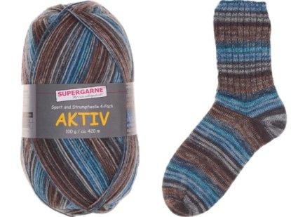 Aktiv Sock Yarn Bundle 3 100g skeins IRELAND 3