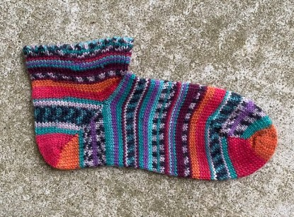 Picot Short Socks 1