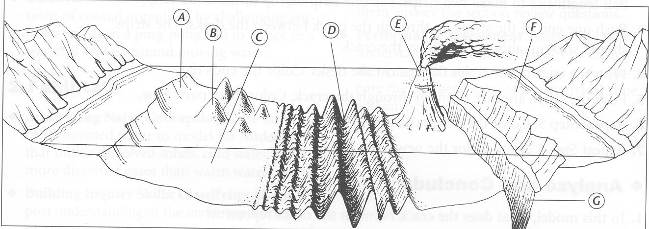 Ocean Floor Profile
