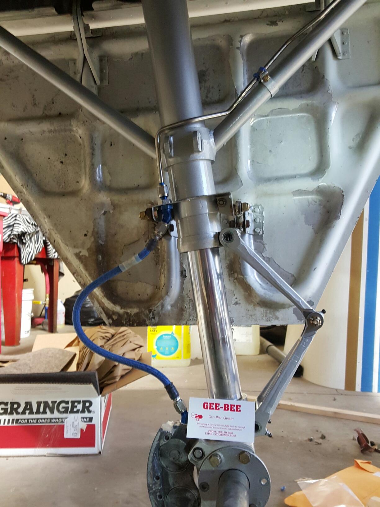 Csobeech  Geebee Beechcraft Engine & Brake Lines