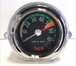 1961-62 Corvette Tachometer Assembly New Electronic Conversion Tach