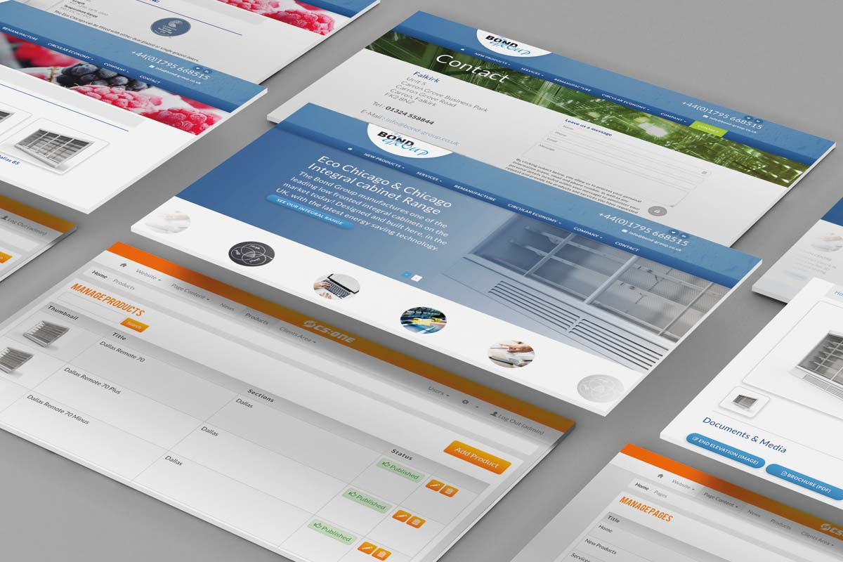 Bond Group Web Design