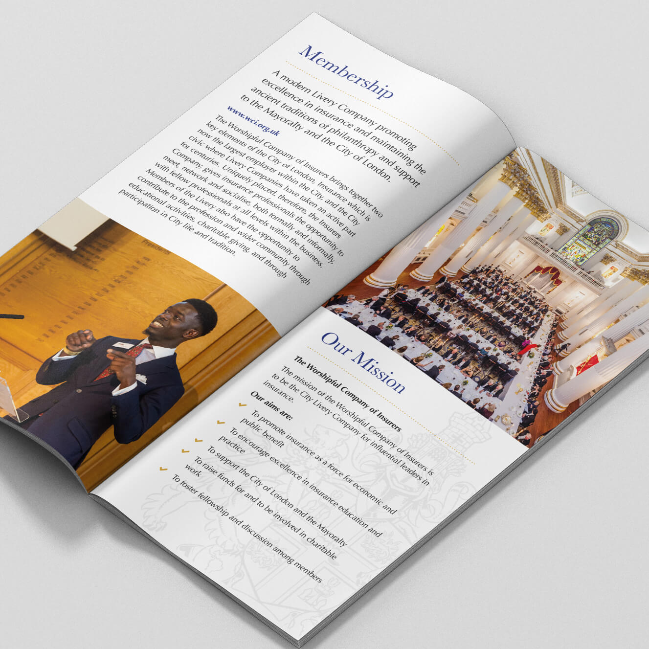 The Worshipful Company of Insurers Leaflet
