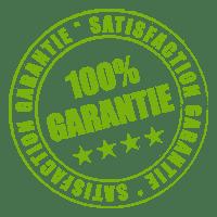 badge 100% garantie, 100% Garantie, satisfaction garantie,