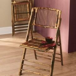 Bamboo Folding Chair Metal Step Stool  Csp