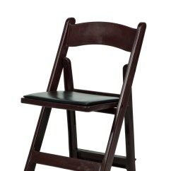 Folding Wood Chairs With Padded Seat Table 6 Max Resin Chair Vinyl  Csp