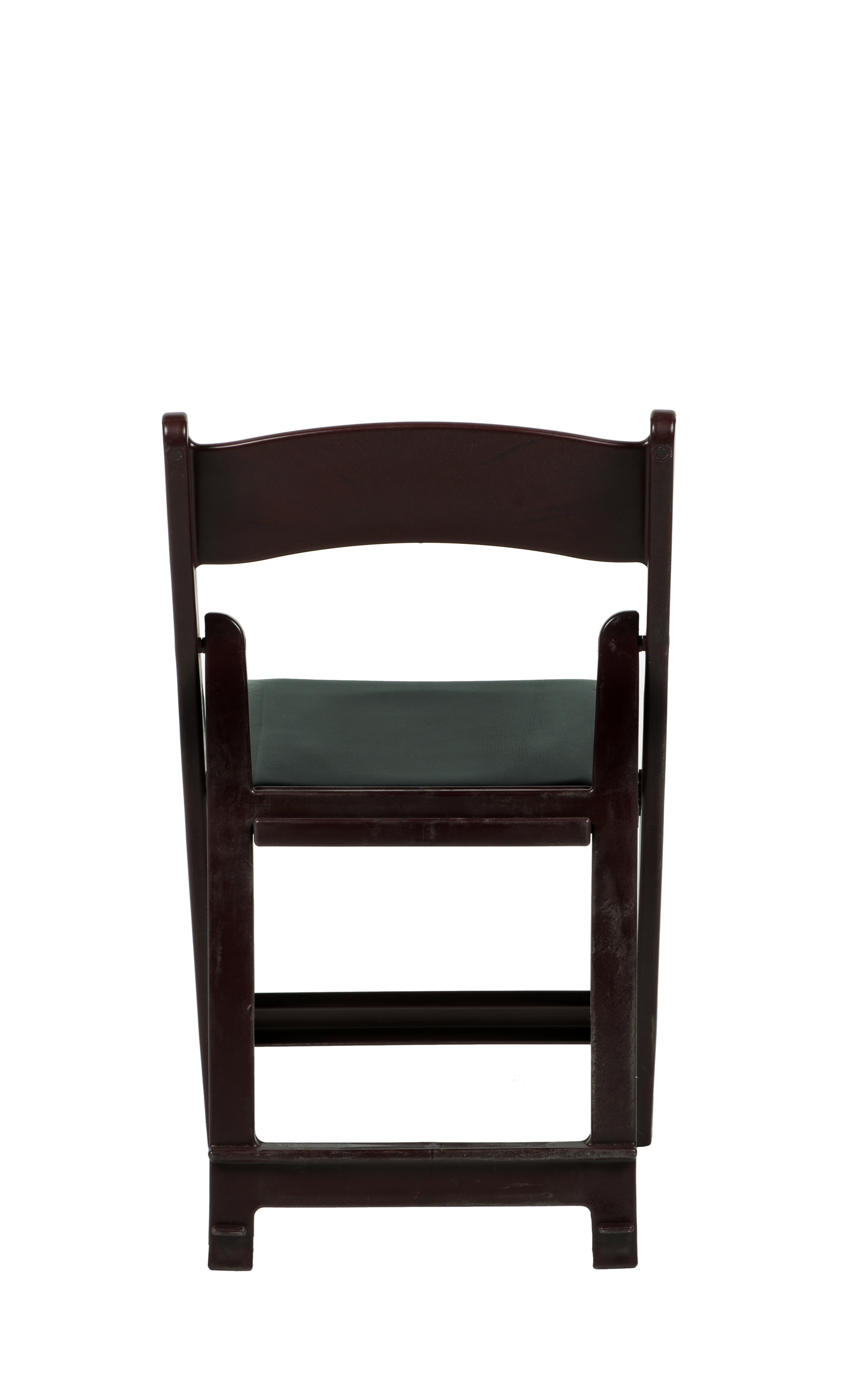 folding chair vinyl padded black slipcovers for armless chairs max resin with seat  csp