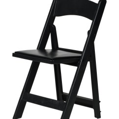 Black Resin Chairs Chair Slipcovers Walmart Max Folding With Vinyl Padded Seat  Csp