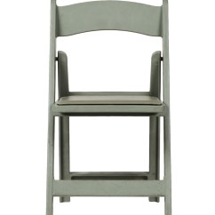 Folding Chair Vinyl Padded Black Elvis Max Resin With Seat  Csp