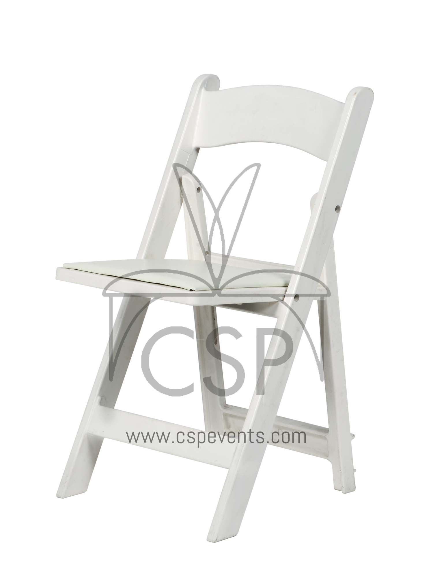 folding chair vinyl padded black oversized leather and a half max resin with seat  csp